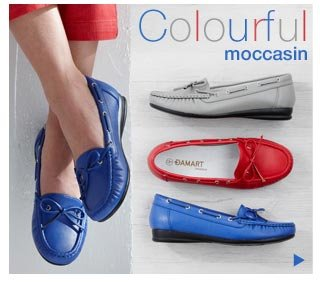 Shop Colourful Moccasin