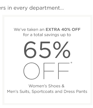 Up to 65% off Women's Shoes & more