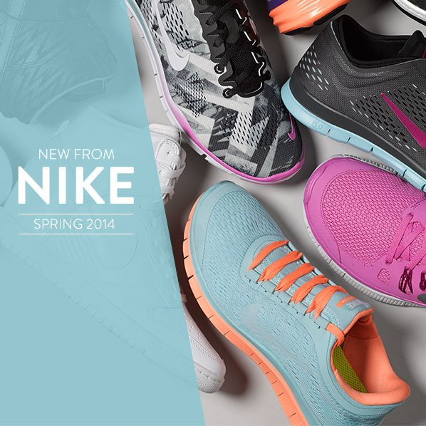 NEW FROM NIKE - SPRING 2014