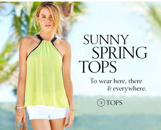Sunny Spring Tops