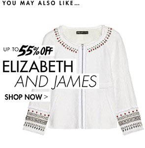 ELIZABETH AND JAMES UP TO 55% OFF