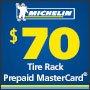 Michelin Get a $70 Prepaid MasterCard