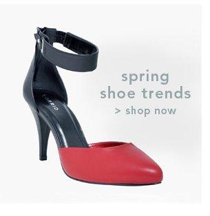 Shop Spring Shoe Trends