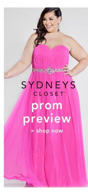 Shop Sydney's Closet Prom Preview