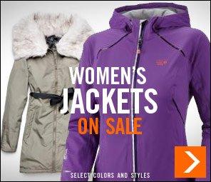 Women's Jackets on Sale