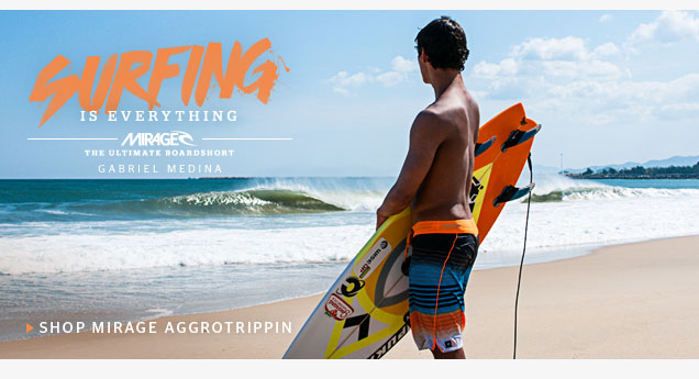 Shop Mirage Aggrotrippin Boardshorts