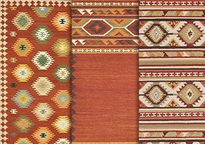 Tribal Style: Runners & Area Rugs