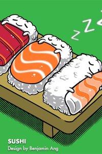 Sushi by Benjamin Ang
