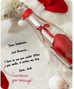 Personalized Message in a Bottle® Just Because Shop Now