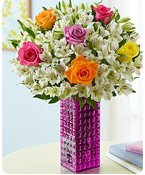 Assorted Rose & Peruvian Lily Bouquet Shop Now