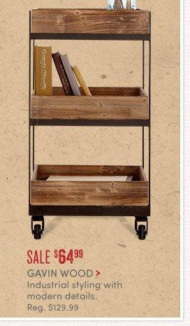 Gavin Wood - Sale - $64.99