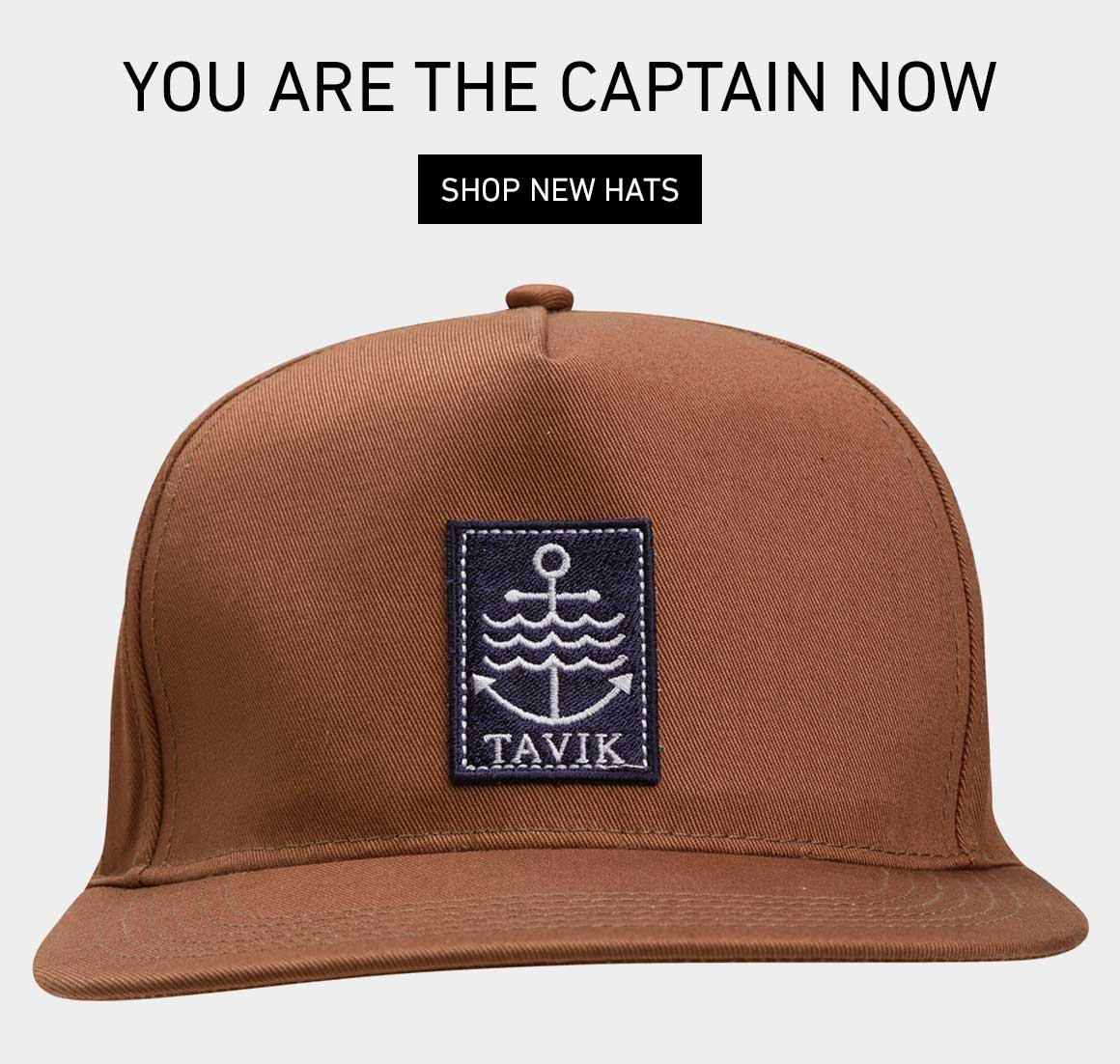 You Are The Captain Now: Shop New Hats