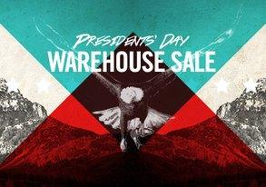 Shop Presidents' Day Warehouse Sale