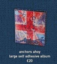 anchors ahoy large self adhesive album