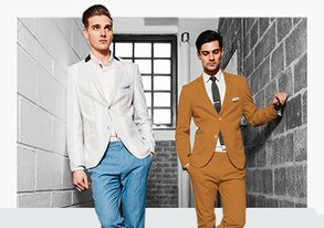 Shop Suit Upgrade: NEW Paisley & Gray