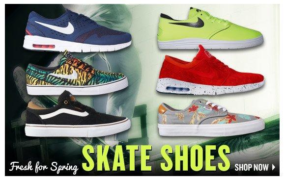 Spring Skate Shoes