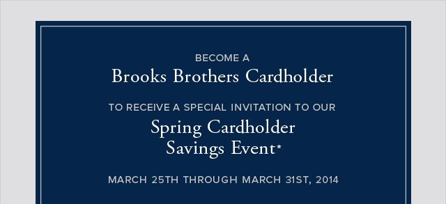BROOKS BROTHERS CARDHOLDER