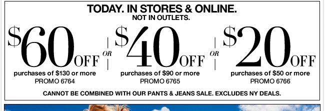 Use this coupon in stores and online!