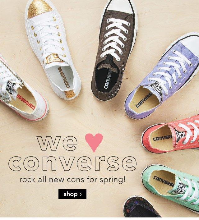 we love converse