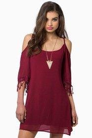 My My Open Shoulder Dress 37