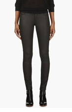BLK DNM Black Colorblocked Skinny Jean for women