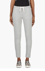 MONCLER Grey Tapered Lounge Pants for women
