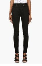 BLK DNM Black High Waist Skinny Jeans for women