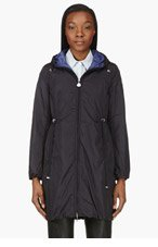 MONCLER Black Ombre Hooded Jacket for women