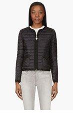 MONCLER Black & White Miel Reversible Puff Jacket for women