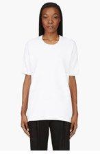 RAG & BONE White oversize Clara t-shirt for women