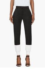 MM6 MAISON MARTIN MARGIELA Black & White Hybrid Lounge Pants for women