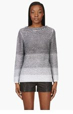 HELMUT LANG Grey Gradient Sweater for women