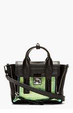 3.1 PHILLIP LIM Black & Iridescent Mini Pashli Shoulder Bag for women
