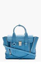 3.1 PHILLIP LIM Blue Pashli Medium Satchel for women