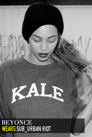 Beyonce in Sub_Urban Riot.