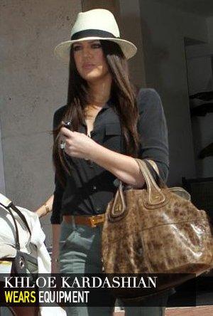Khloe Kardashian in Equipment
