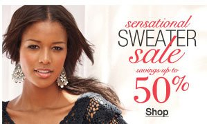 sensational sweaters sale savings up to 50%