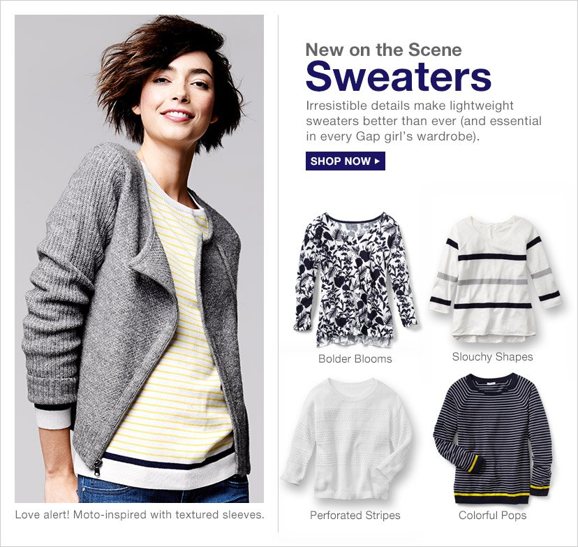 New on the Scene | Sweaters | SHOP NOW