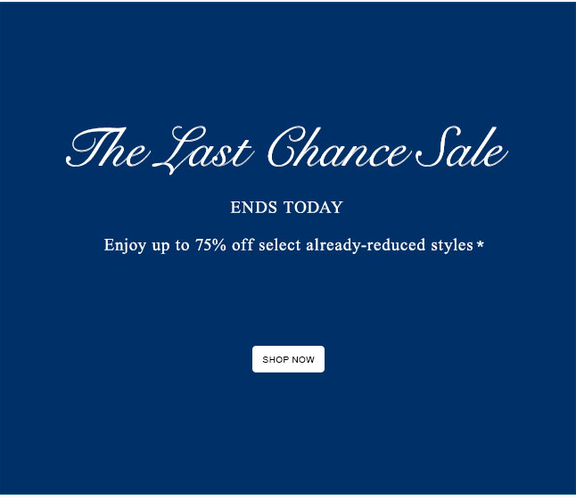 Ends Today: Enjoy Up To 75% Off