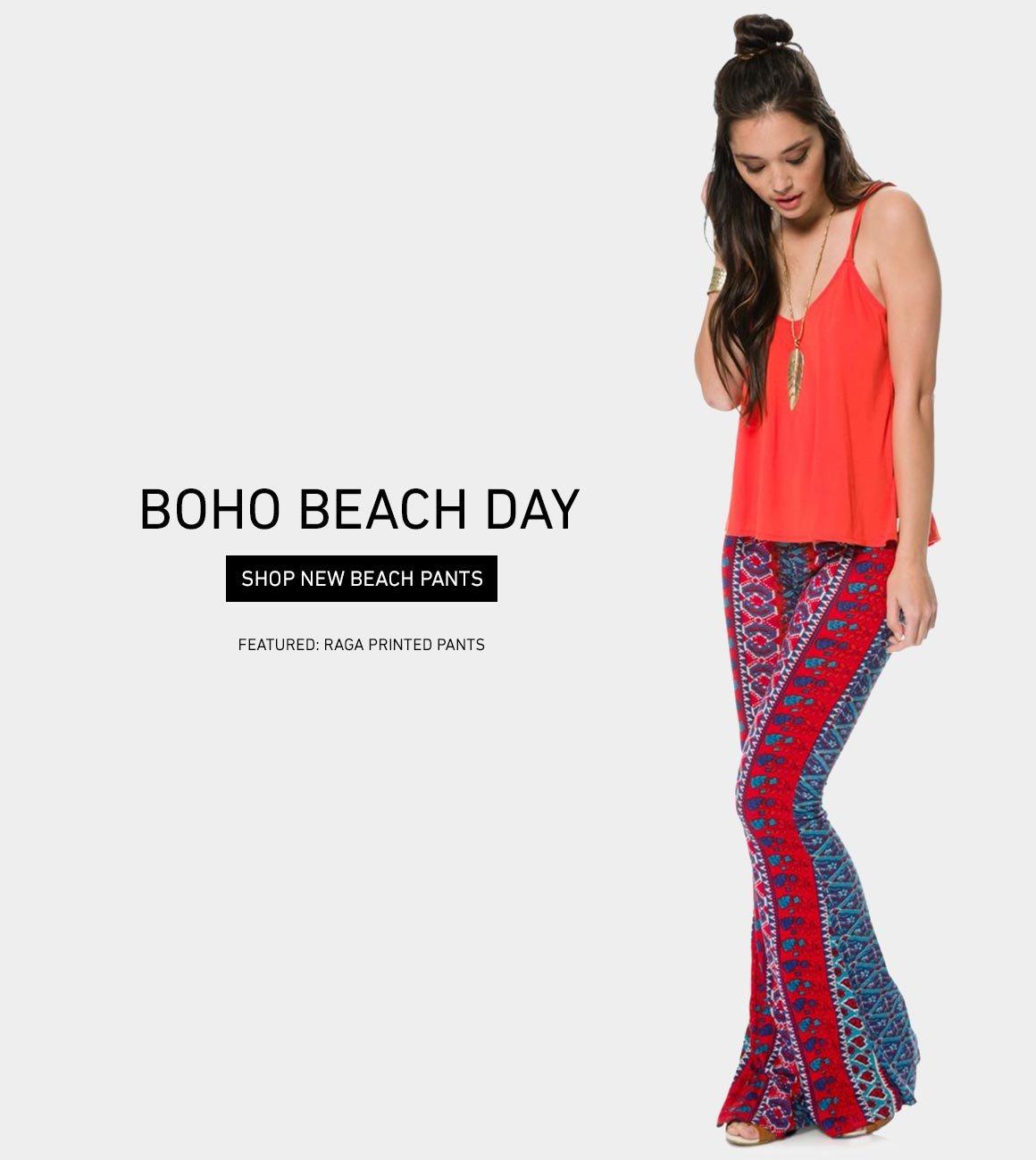 Boho Beach Day: Shop New Beach Pants