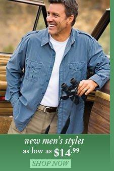 New Men's Styles