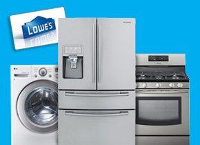 Washer, Refrigerator, Range