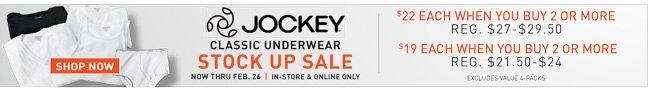 Shop All 2-for Jockey