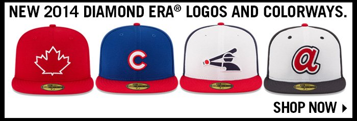 New 2014 Diamond Era Logos and Colorways.