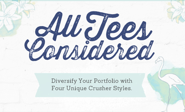 Four Unique Tee Shirt Styles