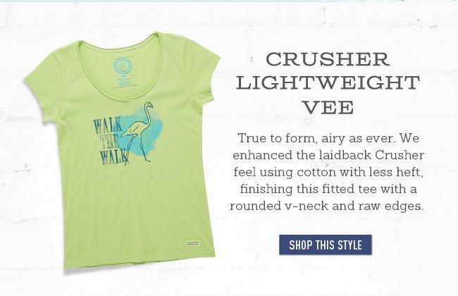 Women's Crusher Lightweight Vee