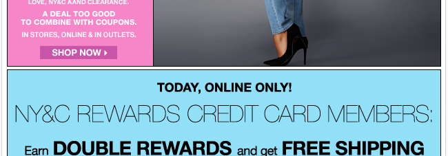 Earn Double Rewards, FREE Shipping, and an Exclusive Offer!