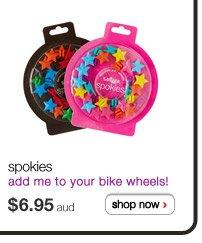 spokies - add me to your bike wheels! - $5.95aud shop now >