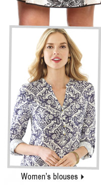 It's the perfect time to buy women's blouses.