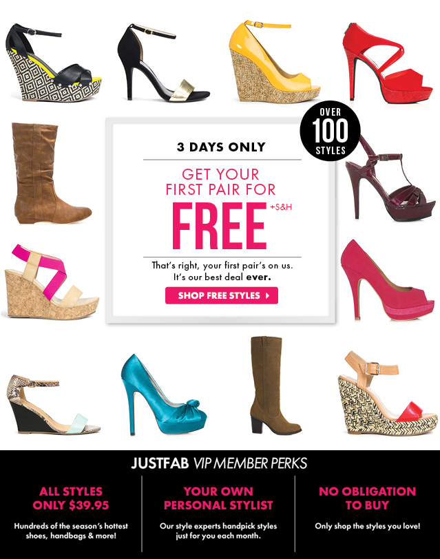 Get Your First Pair Free - It Is Our Treat!